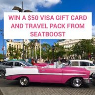 Seatboost Travel Giveaway