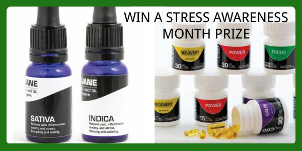 Enter BioRemedies MD National Stress Awareness Month Sweepstakes