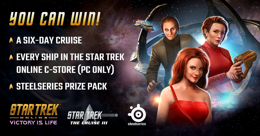 Click Here to Win a 6-day Star Trek Online Starships Cruise