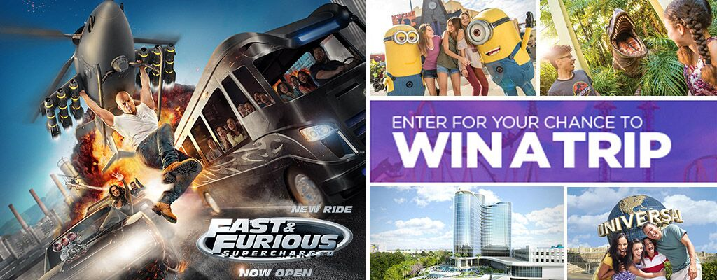 Enter for the chance to win a trip to Universal Orlando Resort from Bravo TV.