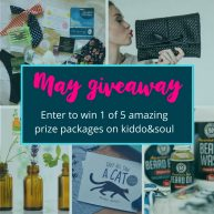 Kiddo & Soul May Subscription Box Giveaway