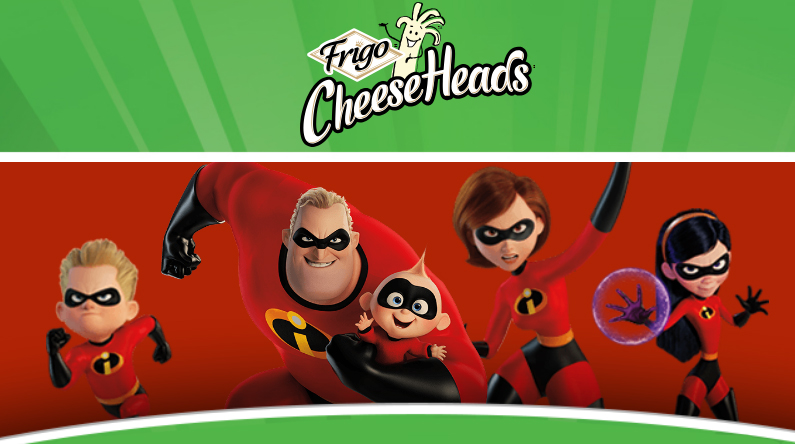 Play theFrigo Cheese Heads Incredible Instant Win Game - 5 instant win prize will be given out each day plus there will be five $1,500 grand prize winners as well.