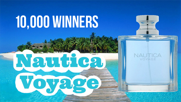Nautica is giving away 10,000 Nautica Voyage Men's Cologne Samples. Nautica Voyage is the cologne for the adventurous spirit, anchored by a rich fusion of dewy moss and refined woody amber - perfect for all the men in your life!