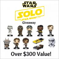 QUICK ENDING! Enter the Solo: A Star Wars Story Prize Pack Giveaway