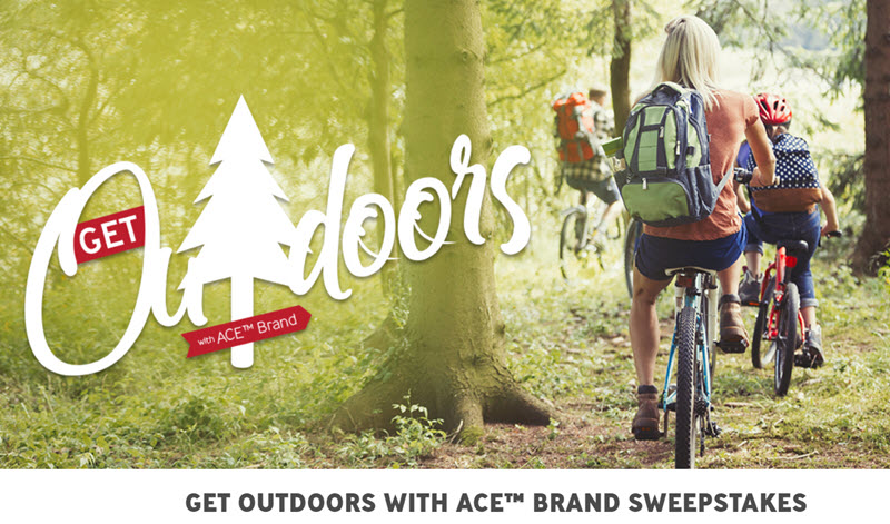 3M Get Outdoors with ACE Brand Sweepstakes