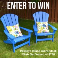 Pawleys Island Adirondack Chair Set Giveaway