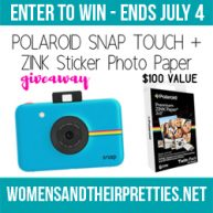 Win a Polaroid Snap Touch