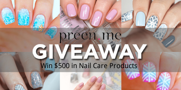 Tag a friend who loves nail products and then Enter Here for your chance to win over $500 worth of nail care products #LovePreenMe