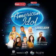 Radio Disney American Idol Live Sweepstakes. Enter to win a trip to an American Idol Live Tour concert