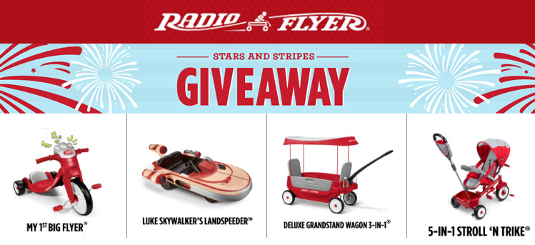 Radio Flyer Stars & Stripes Giveaway