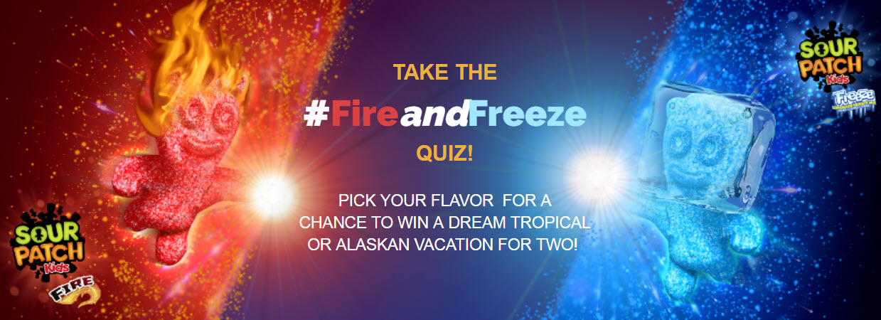 Sour Patch Kids Fire Or Freeze Sweepstakes 112 Prizes Fireandfreeze