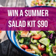 Enter the Summer Salad Essentials Giveaway