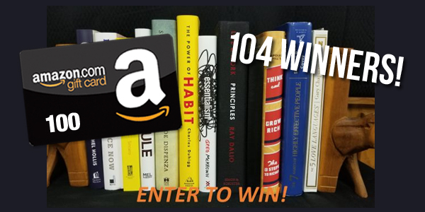 Personal Development Book & Amazon Giveaway
