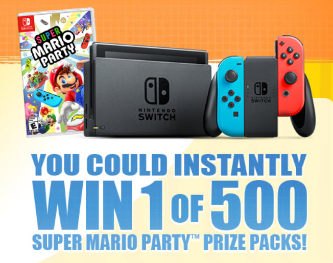 Lunchables com mariopartysweepstakes