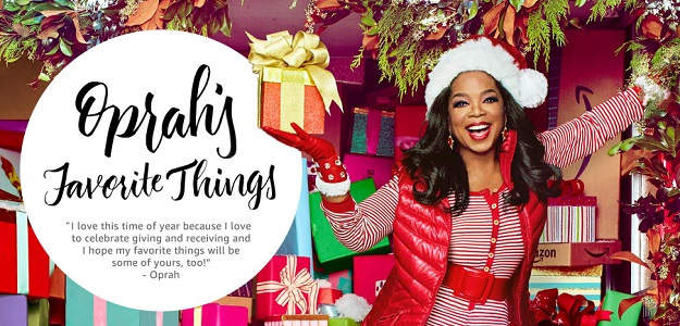 12 grand prize winners will win everything on Oprah's Favorites Things List valued at over $17,000.