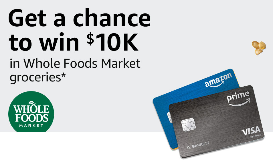 Get a Chance to Win $10K of Groceries at Whole Foods Market