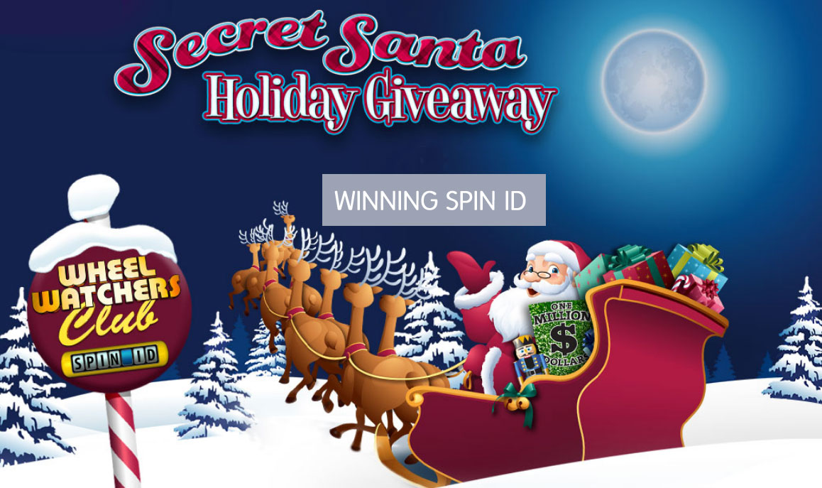 secret santa sweepstakes on wheel of fortune wheel of fortune secret santa holiday giveaway 3365
