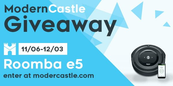 Modern Castle Roomba e5 Robot Vacuum Giveaway