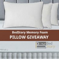 BedStory Memory Foam Pillow Giveaway