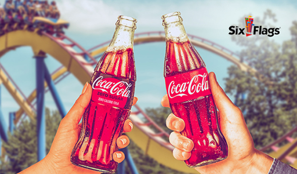 Win Six Flags ticket from Coca-Cola