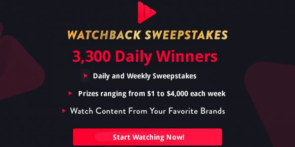 NBC Watchback Sweepstakes - Watch TV to Win!