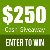 Enter to win $250 in cash