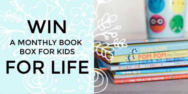 Enter to win a LIFETIME of book boxes for your kids! Valued at over $1400, choose from the monthly board book box, picture book box, or sibling mix box.