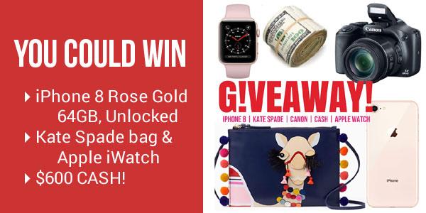 Enter for your chance to win1 of 3 fabulous grand prizes in the Fab Fash Life Winner's Choice Giveaway