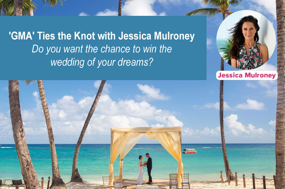 """""""Good Morning America"""" wants to make your dream wedding happen with the one and only Jessica Mulroney as your wedding planner!One lucky couple has the chance to win a wedding ceremony with the reception at the Royalton Punta Cana Resort and Casino in Dominican Republic by Wedding Vacations -- with the help of Kleinfeld Bridal, Indochino and Elizabeth Arden!"""