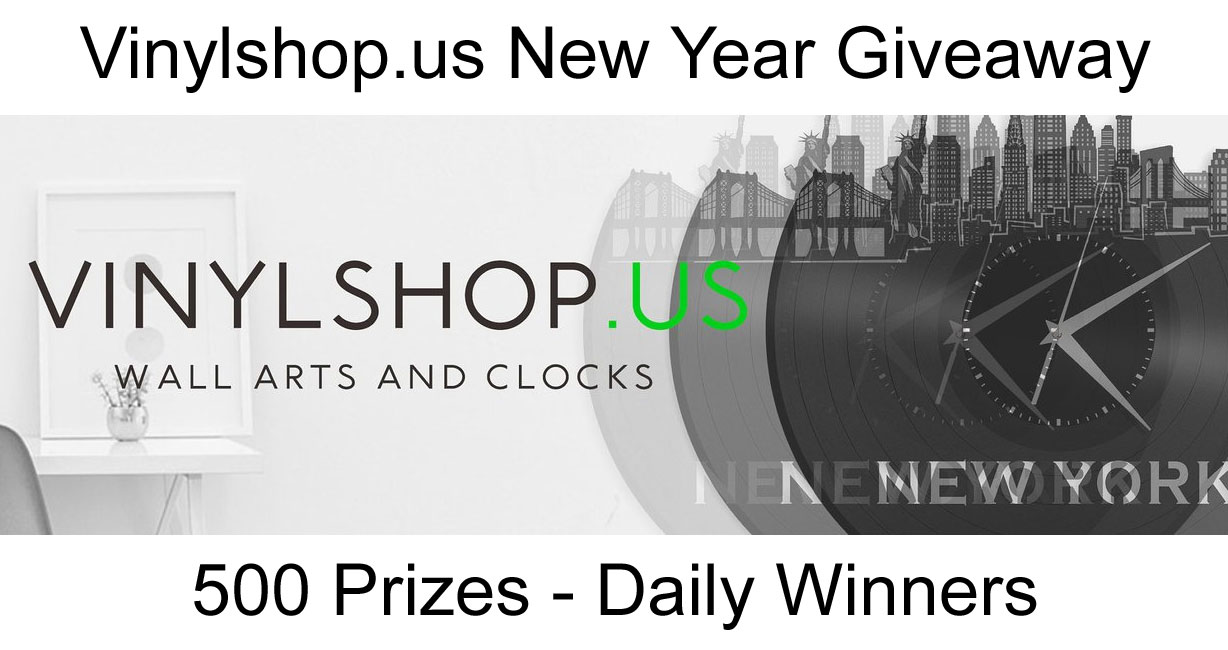 Instead of spending thousands of dollars in ad dollars, Vinylshop.us decided to giveaway 500 prizes to those that love what they do and help spread the word. You can pick your price from 3000+ products on the website