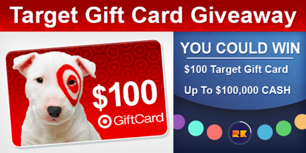 Ripkord TV Spin It To Win It $100 Target Gift Card Giveaway