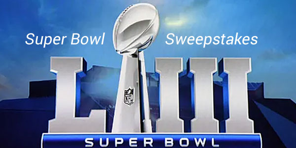 Super Bowl Sweepstakes