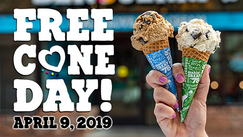 Ben & Jerry's Free Cone Day Is Coming!