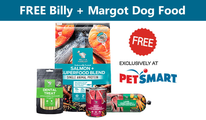 Billy + Margot wants you to try their refrigerated dog food roll and get a $5.00 coupon for any size dry dog food they sell. Billy + Margot sells nutritious dog food that is made with high quality proteins and superfoods to support health and vitality.