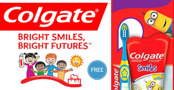 Tell your favorite Kindergarten or First Grade teacher that they can apply to get a kit of 25 Colgate Toothbrush and Colgate Toothpaste to distribute to their class from the Colgate Bright Smiles Campaign.