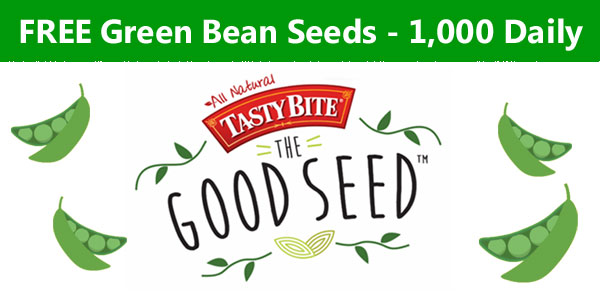 Free Green Beans Seeds - 1,000 Daily