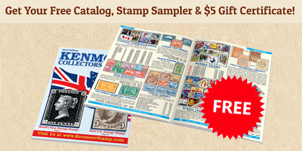 FREE Kenmore Stamps Collector's Starter Kit