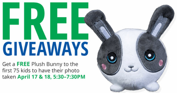 FREE Easter Bunny Photo, Plush Bunny, more at Bass Pro Shops