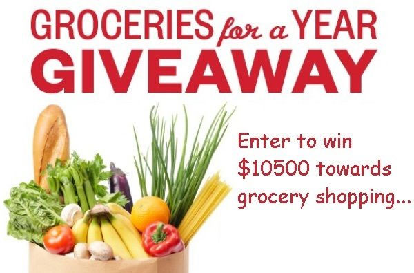 Enter for your chance to win $10,500 that you can use towards groceries for a year. Purchase Coca-Cola products or send entries in the mail without purchase.