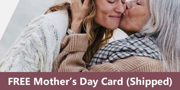 Mother's Day is coming up and Artifact Uprising has a Free Mother's Day Greeting card for you that you can have shipped for free to the mom of your choice.