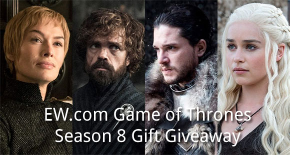 EW.com Game of Thrones Season 8 Giveaway Trivia Answers