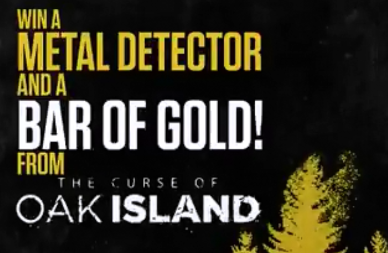 trip to oak island sweepstakes history channel curse of oak island sweepstakes 1244