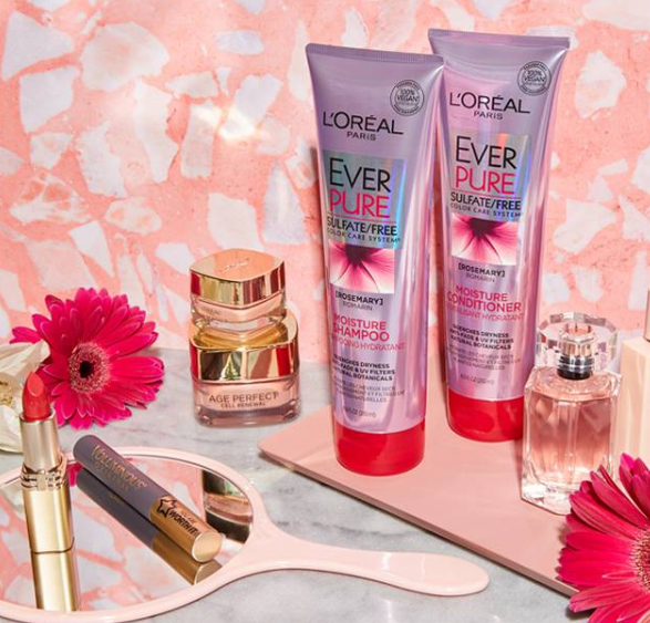 Enter for a chance to win a stash of L'Oréal Paris products for you and your mom! In addition to 3 first prize winners, 2 grand prize winners will also receive flowers for the special day!
