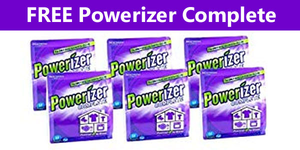 Grab your Free sample of Powerizer Complete, an all natural Dishwasher, Laundry and Carpet Detergent All-in-I Concentrated Detergent - from the makers of OxiClean and Orange Glo Wood Cleaner and Polish