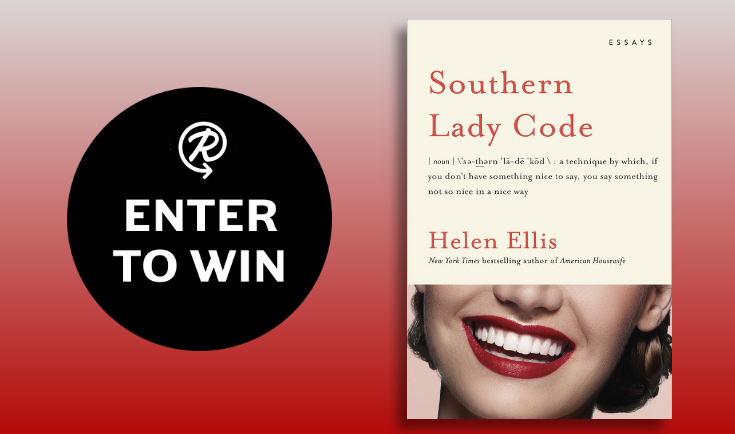 Enter for your chance to win a copy of the book, Southern Lady Code by Helen Ellis.
