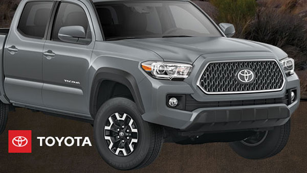 Enter the Bass Pro Shops and Cabela's Gone Fishing Sweepstakes for your chance to win a 2019 Tacoma TRD Off-Road truck with Premium Package