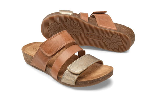 Enter for your chance to win a pair of Comfortiva Gemina Sandals.