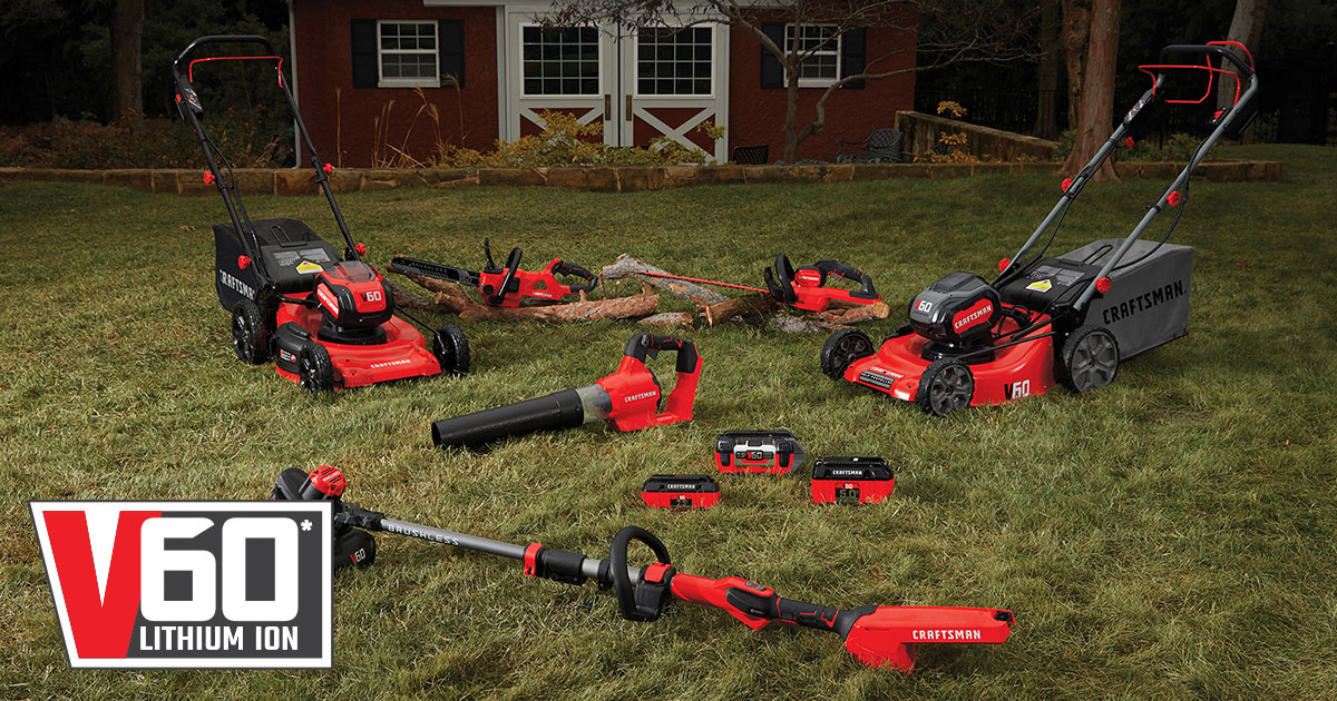 Enter Bob Vila's Craftsman sweepstakes today and every day this month for a chance to win five cordless V60 outdoor power tools from CRAFTSMAN. Three grand prize winners will be chosen.