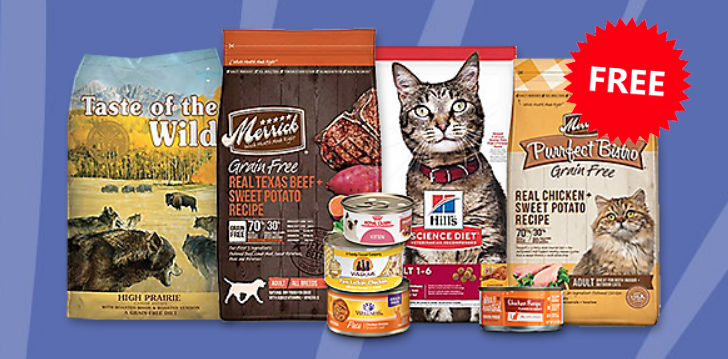 FREE Artificial-Free Dog or Cat Food at Petco