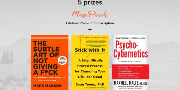 Enter to win a lifetime MusePeach membership and 3 awesome books.